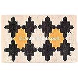 Indio 3* 2pies hanwoven yute alfombra alfombra, alfombra, alfombra de yute Floor Mat Gran área alfombra hecha a mano alfombra hecha a mano alfombra Kilim, alfombra de Yoga antideslizante