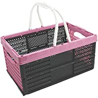 COM de Four®–Caja con asas, cesta de la compra plegable, 16L, 40x 26x 20cm