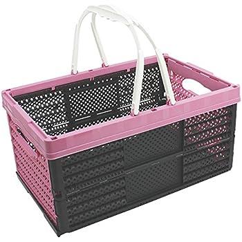 einkaufskorb 16l mit henkel klappbar kiste box einkaufskiste einkaufsbox k che. Black Bedroom Furniture Sets. Home Design Ideas