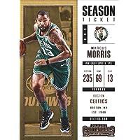 2017–18Dépasse Panini Season Ticket # 50Marcus Morris Boston Celtics Basketball carte