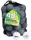 Second Chance Wilson Pro Staff 48 Balles de golf de récupération Qualité supérieure Grade A