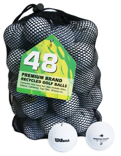 Second Chance Wilson Pro Staff 48 Balles de golf de...
