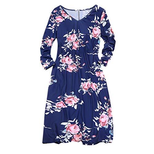 Prinzessin Kleider für Mädchen Blume Print Partykleid