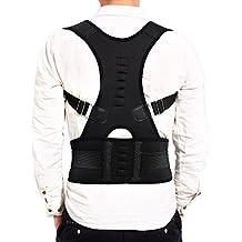 CLE DE TOUS - Talla L Soporte Faja Para la Espalda Faja para Corregir la Postura de la Columna Corrector de Espalda para Aliviar Dolor Lumbar
