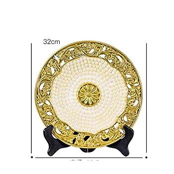 Vitrine décoration décoration création maison maison personnage européen artisanat Chambre de télévision salon , Pearl Disc