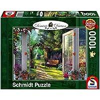 Schmidt Spiele Vue dans Le Jardin Enchanté Puzzle, 59592