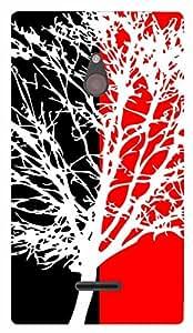 TrilMil Printed Designer Mobile Case Back Cover For Nokia XL