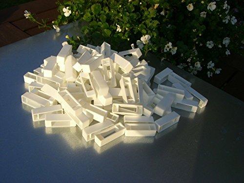 simonthebeekeeper 50 Narrow bee hive plastic frame ends/spacers 2