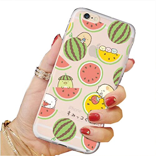 LOVE STUDIO,nuova custodia iphone6/iphone6 plus/iphone7/iphone7 più custodia protettiva con fodera in rilievo TPU (iphone 6 plus, A) A