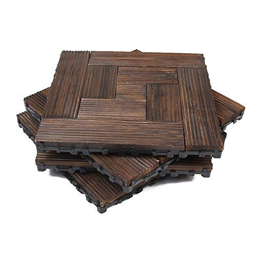 Hervorragend Holzfliesen, Fliesen Balkon Kunststoff Bodenbelag mit Drainage GY08