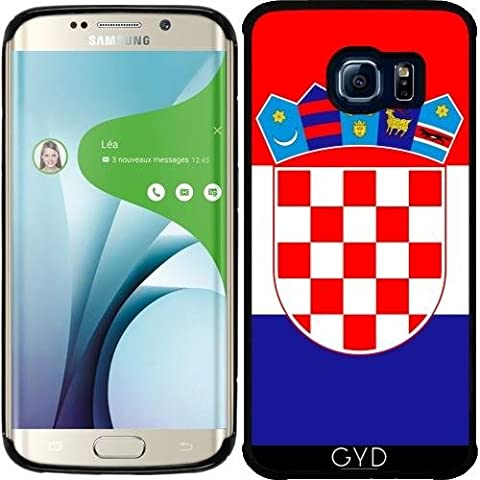 Funda de silicona para Samsung Galaxy S6 EDGE (SM-G925) - La Bandera De Croacia by