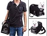 Schwarz Transporttasche Für Hunde & Katzen Komfort Airline Genehmigte ReiseTote Weich-seitig Tasche Mit Matte - 4