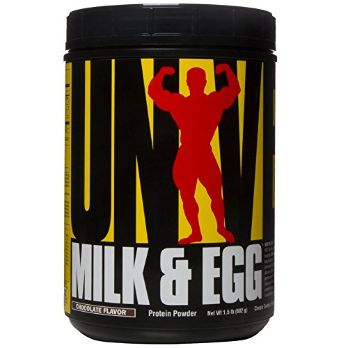 Milk & egg - 680 g - Chocolat - Universal nutrition