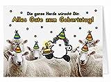 66 - Kollegen Geburtstag - Midi-Grußkarte von Sheepworld
