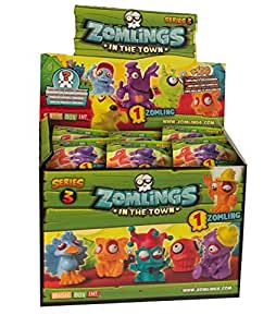 Zomlings dans la série Town 3 1 Zomling Per Pack x10 - Toy - Magic Box