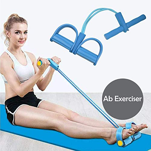 shree krishna Pull Reducer, Waist Reducer Body Shaper Trimmer for Reducing Your Waistline and Burn Off Extra Calories, Arm Exercise, Tummy Fat Burner, Body Building Training, Toning Tube (Multi Color)