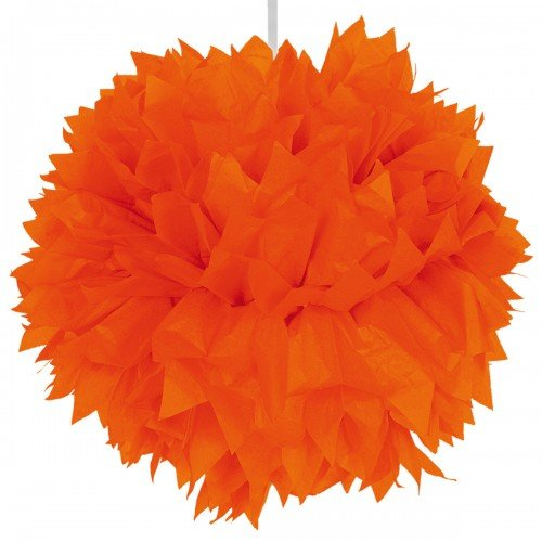 Pompom 30cm Orange Colour -2 -