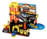 #5: Toyshine Garage Play Set Track Set with 2 Cars, Accessories