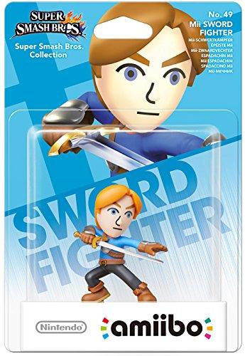 Nintendo - Figura Amiibo Smash Mii Swordsman (Espadachín Mii)