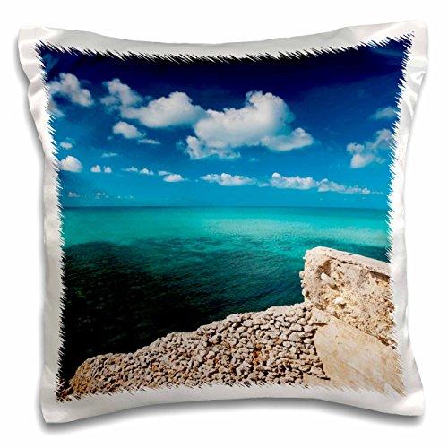 3dRose PC 134094_ 1Bahamas, Eleuthera Insel, Glas Fenster bridge-ca05wbi0428-walter bibikow-Pillow Fall, 16von 40,6cm