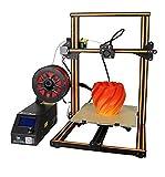 Creality CR-10 3D Drucker Printer DIY Kit Desktop Große Druckgröße 300x300x400mm mit Dual-Z Achse Hohe Genauigkeit