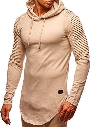 LEIF NELSON Herren Kapuzenpullover Pullover Hoodie Oversize Sweatshirt mit Kapuze Sweatshirt Longsleeve Hoody LN6369