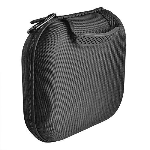Xinvision Hard Custodia per Sony MDR-XB950N1/WI-1000X HI-Res/WH-1000XM2,Nylon Custodia Scatola Trasporto Viaggio Borsa Case(25 * 22 * 7cm, Nero)