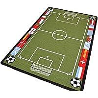 Large 95 x 133cm Football Play Mat Educational Children's Fun Rug Carpets Crawling Learning Playmat (95 x 133cm, Football Mat)