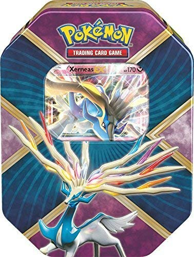 Lively Moments Pokemon Karten Tin Box X & Y Xerneas-EX EN Englisch Promo Trading Card Game / Metallbox