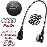 Cable USB de sincronización de datos para interfaz de música MDI MMI AMI para Audi A3A4A5A6A8Q5Q8Q7