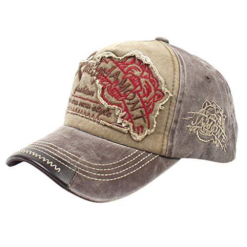 CENDAY Trucker Cap | Baseballcap mit Baumwolle | Basecap mit Markenstickerei | Snapback Cap mit Mesh Einsatz | Schirmmütze Winter/Sommer | Truckercap
