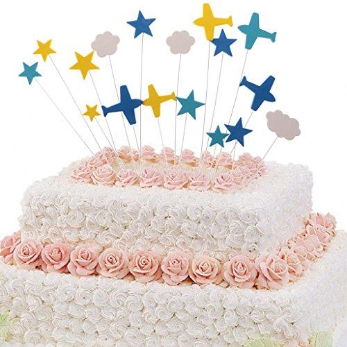Magideal Toppers Della Torta Di Compleanno Fumetto Orsetto Luna