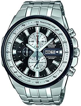 Casio Edifice – Herren-Armbanduhr mit Analog-Display und Edelstahlarmband – EFR-549D-1BVUEF