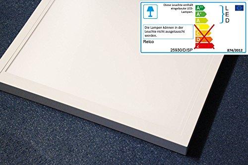 Quadratische Decke Diffusor (LED Panel 36 Watt 625x625 Aufbauleuchte 840 weiß 230 Volt 330 Lumen neutralweiß)