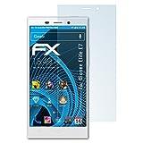 atFolix Schutzfolie kompatibel mit Gionee Elife E7 Folie, ultraklare FX Bildschirmschutzfolie (3X)
