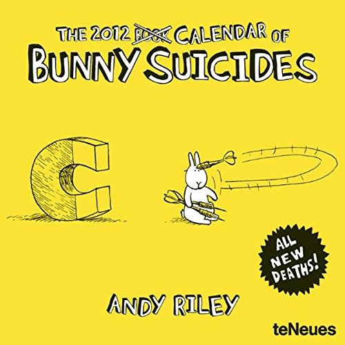 2012 Bunny Suicides Mini Grid Calendar