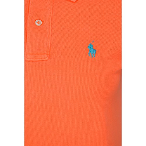 Polo Ralph Lauren Ss Dress, Robe Femme Orange