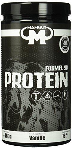 Mammut - Formel 90 Protein, Vanille, 460 g Dose (Protein Vanille Egg)