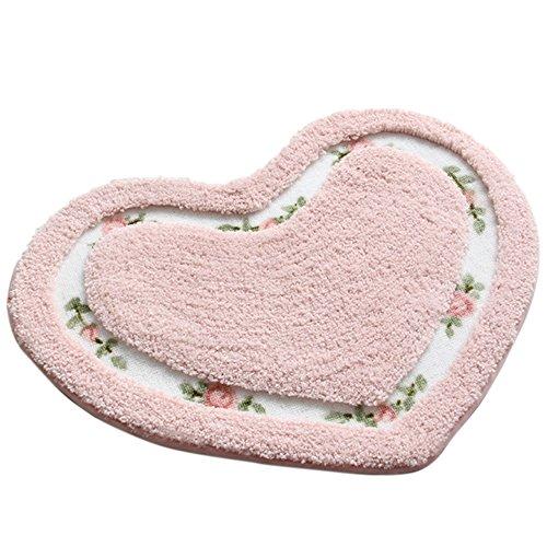 blumchenmuster-und-herz-form-anti-rutsch-absorbierenden-dekorative-area-rug-teppich-fussmatte-floor-