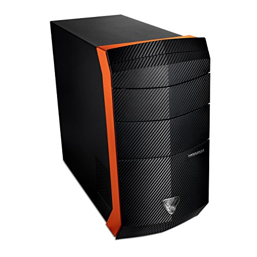 Medion Erazer X5331 F/B621 Gaming-PC (Intel Core i7-4790, 3,6GHz, 16GB RAM, 128GB SSD, 1TB HDD, NVIDIA GeForce GTX 970 4GB GDDR5, Win 10 Home)
