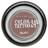 Gemey Maybelline Eyestudio Color Tattoo 24-Hour Eye Shadow 40 Permanent Taupe by Maybelline