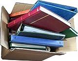 Bargain caja de álbumes y accesorios. 6 – 8 kg de álbumes surtidos, libros, etc.