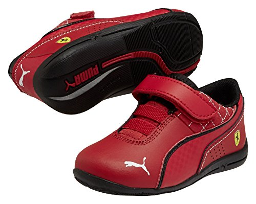 efcdebf7f136 Puma Girl S Drift Cat 6 L Sf V Kids Rosso Corsa Rosso Corsa Bk Leather  Chinese Shoes 11 Uk