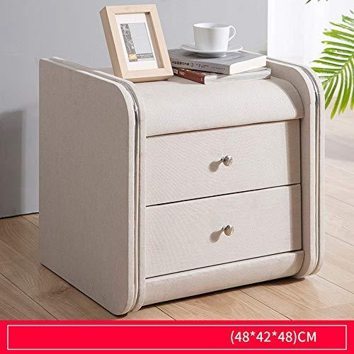 FELICIGG Nachtschrank aus Leder mit kleinem Schrank für Schlafzimmermöbel (Farbe : 9)