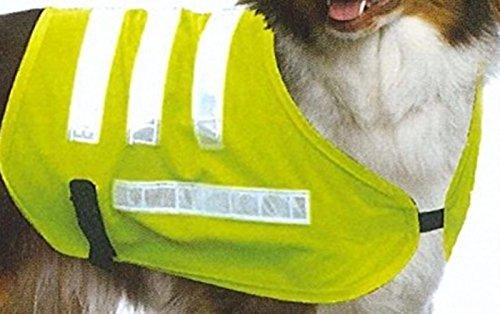 Urban Living Reflektierende Hund Jacke Fell Sicherheit Weste Gr. 3passend für normalgroße Chihuahua, Yorkshire Terrier oder ähnlich große Hunde (Jacke Hund Sicherheitsweste)