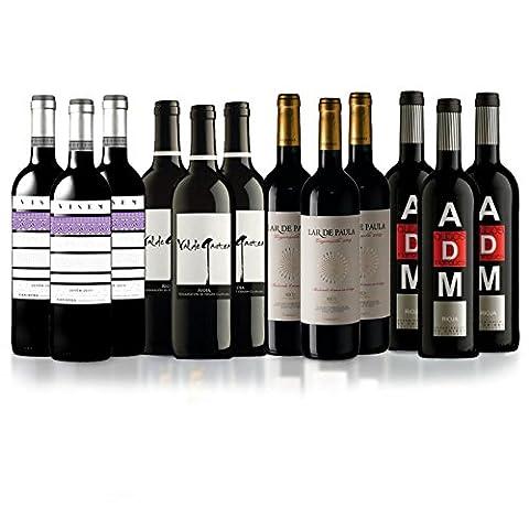 Sélection Rioja Rouge Espagne - 12 bouteilles.