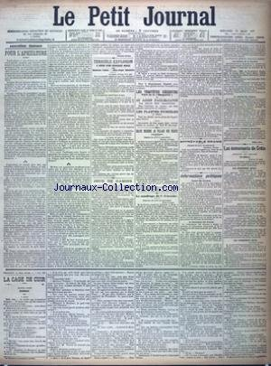 PETIT JOURNAL (LE) [No 12500] du 17/03/1897