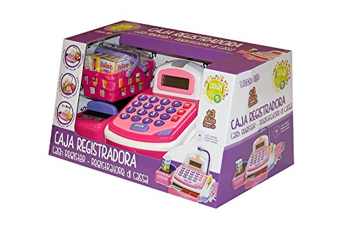 Tachan- Caja registradora Little Home, Color Rosa, CPA Toy Group 74014263