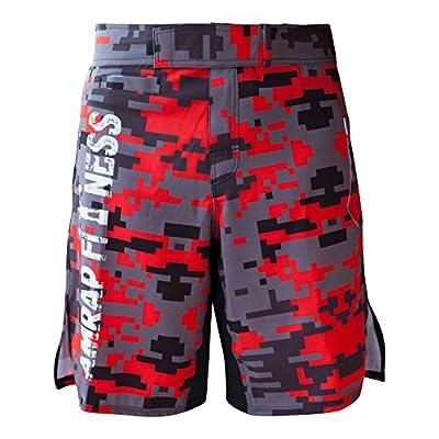 AMRAP WODShorts Community Edition Trainingshose Workout-Shorts kurz für Muay Thai, MMA, Freefight, Bodybuilding, Fitness, Vale Tudo, Combat Sport, Kampfsport Bekleidung