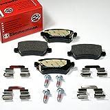 Zimmermann Bremsbeläge/Bremsklötze / Bremsen für hinten/die Hinterachse